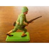 Soldado U S A Segunda Guerra Miniatura 3 (made In England)