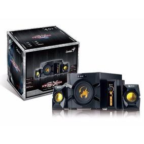 Caixa De Som Gx Gaming Genius 3000 2.1ch 70 Rms Som Potente