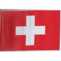 Bandera Suiza 150x90cm Cruz Griega Blanca Suizo Seleccion