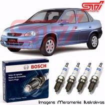 Jogo Vela Bosch Sp07 Corsa 1.6 16v Gasolina Gnv 108cv 95-96