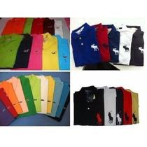 Kit 10 Camisa Gola Polo Masculina Varias Marcas Oferta