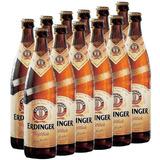 Cerveja Erdinger Clara Alemã Trigo 500ml 12 Unidades