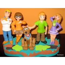Adorno Para Torta Scooby Doo Y La Máquina Del Misterio