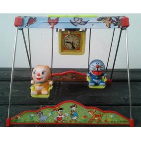 Juego De Hamacas A Cuerda Con Doraemon Y Dorami (70