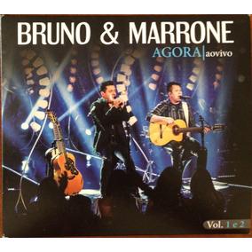 Bruno & Marrone Agora Ao Vivo - Vol. 1 E 2 - Cd Duplo