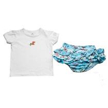 Conjunto Camiseta E Calcinha Tye Dye - Little Bee