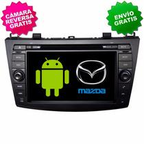 Estereo Navegador Gps Mazda 3 Android Wifi 3g Pantalla Dvd