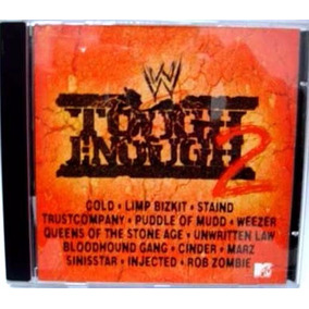 Cd Wwf Tough Enough 2 - Limp Bizkit, Queens Of The Stone Age