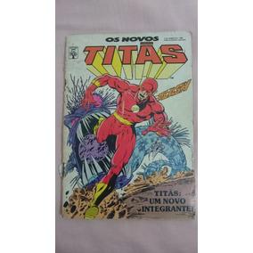 Revista Em Quadrinhos Os Novos Titãs: Um Novo Integrante