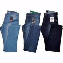 Calça Calsa Jeans Masculinas Varias Marcas Top Kit 2 Peças