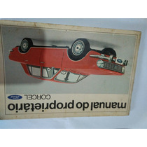 Manual Proprietário Ford Corcel 1971 Original