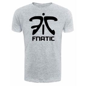 Camiseta Fnatic - League Of Legends Cinza Lol Game Cs