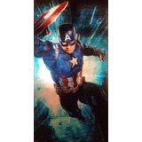 Capitan América Marvel Toalla