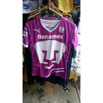 Jersey Pumas Unam Rosa Pink Project Dama. Marca Puma Envio G