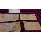 Yh 40 Antiguos Cheques De Arrendamiento Con Filateria 1970