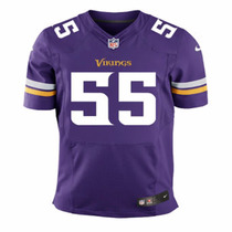 Camiseta Nfl Vikings 55 Barr- 28 Peterson