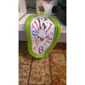 Reloj Derretido De Colores! Dali Super Originales Living