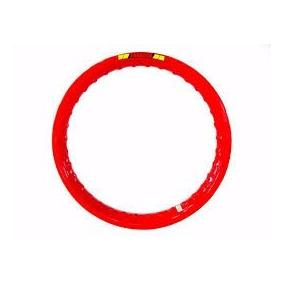 Par Aro Moto Alumínio Vermelho Para Bros 17x215+19x185