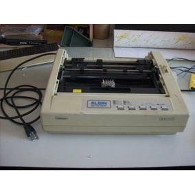 Impressora Matricial Elgin Ee 809 80 Colunas - Usada
