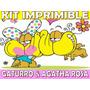Kit Imprimible Gaturro Agatha Cumples Tarjetas Invitaciones