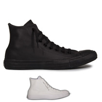 Tênis All Star Converse Ct As Monochrome Leather Hi