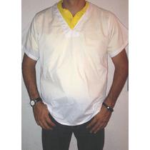 Camisas Cuello V, Blancas Para Uniformes