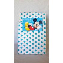 Bolsas Golosineras Personalizadas Mickey Souvenir Cumple