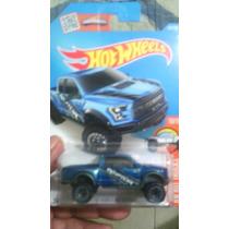 Hotwhwels Ford Raptor Azul
