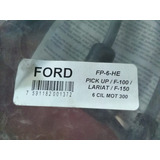 Cables De Bujias Ford Pick Up F100 F150 Lariat Fp-6-he