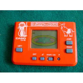 Antiguo Juego Electrónico Casio Cg 90 Funny Circus