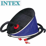 Inflador Portatil Intex De Pie Gigante 30 Cm Doble Accion