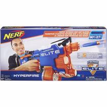 Lançador Nerf N-strike Elite - Hyperfire + 25 Dardos Hasbro