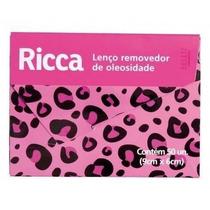 200 Lenços Removedor De Oleosidade Ricca