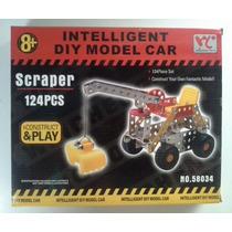 Excavadora Construye Y Juega 8+. 3 Modelos. Oferta!!!
