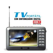 Tv Digital Portátil 4.3 Polegadas Recarregável