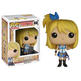 Fairy Tail Boneca Lucy Funko Pop De Vinil 10cms