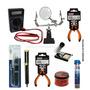Kit Solda Ferramentas Para Eletronica Manutenção 09 Pç