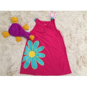 Vestido Importado Menina Infantil 12 A 18 Meses Algodao