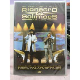 Rionegro & Solimões De Bem Com A Vida Ao Vivo Dvd Lacrado