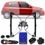 Kit Vidro Elétrico Sensorizado Dian Clio 4 Portas Intalado