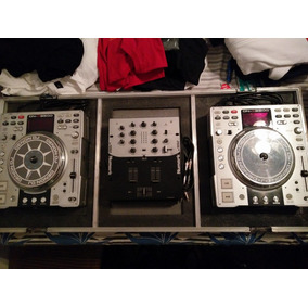 Compacteras Denon S3500 + Mixer Numark Dm 1050 + Anvil
