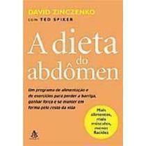 Livro A Dieta Do Abdômen David Zinczenko, Ted Spiker