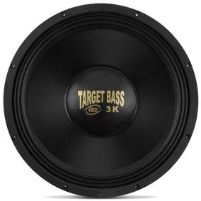 Subwoofer 15 Eros Target Bass 3.0k 1500 Watts Rms - 4 Ohms