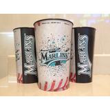 Vasos Plásticos Marlins De Florida Temp. 2011-2012 Colección