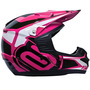 Capacete Cross Asw Factory Race Pink