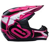 Capacete Cross Asw Factory Race Pink Feminino