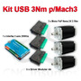 Kit Usb Mach3 3 Axis, Paso A Paso 3nm, Driver 4a, Cnc Router