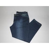 Calça Jeans Feminina Plus Tam 54! Novo