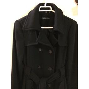 Abrigo negro calvin klein
