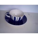 Tea Clipper Whittard Of Chelsea Taza Plato Te Pintado A Mano